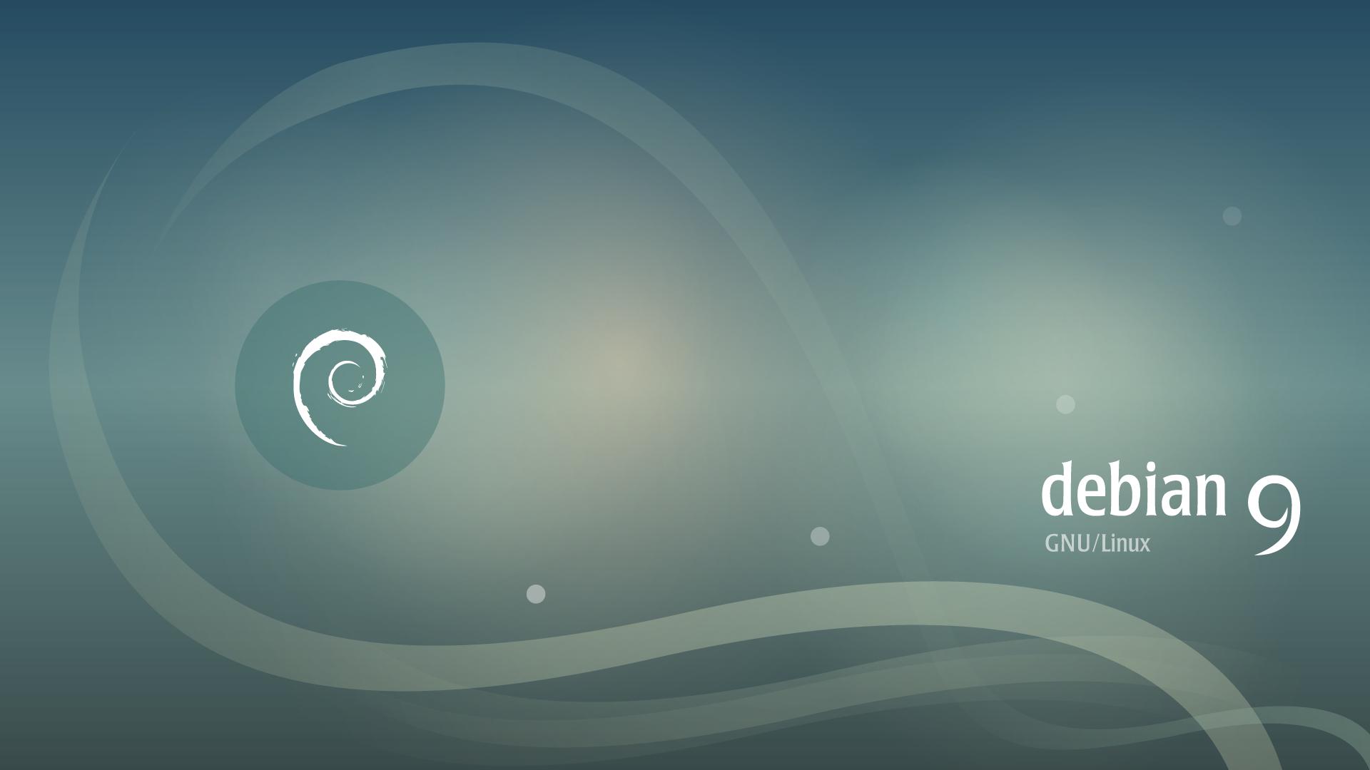 Ambiente de trabalho do Debian 9