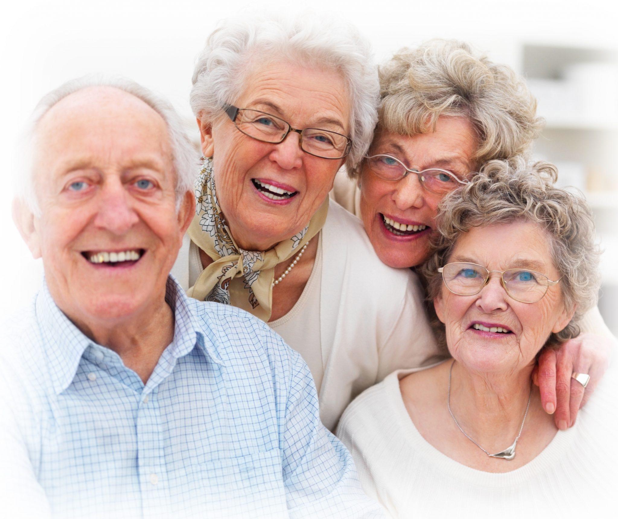 Seniores felizes