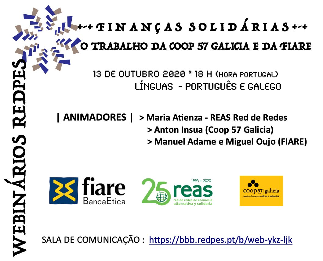 Cartaz do Webinário RedPES